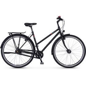 vsf fahrradmanufaktur T-100 Trekkingcykel Diamant Nexus 8-växlad FL V-broms svart
